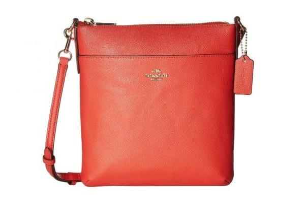 Coach Crossgrain Leather Courier Crossbody