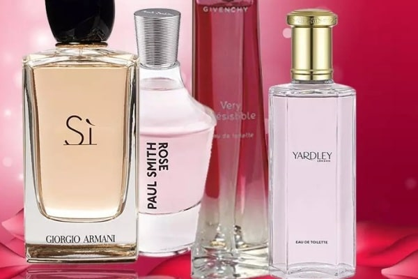 15 Best Selling Rose Perfumes Brands