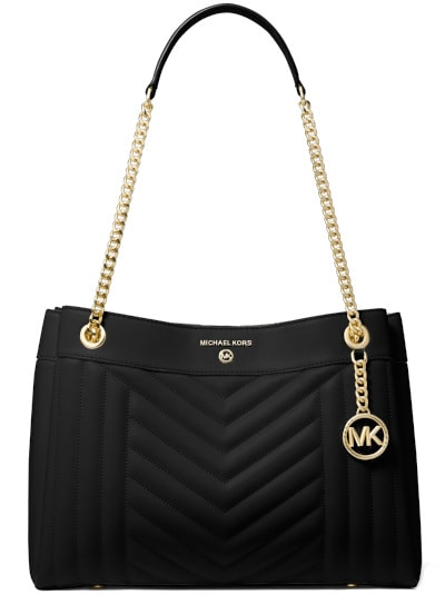 Michael Kors Susan Medium Quilted Leather Shoulder Bag