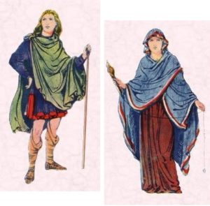 Clothing through the Ages - Saxon Clothes