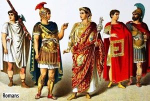 Clothing through the Ages - Roman Clothes