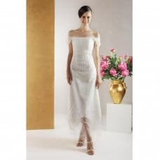 Sheath Wedding Dress – for slender, well-proportioned women