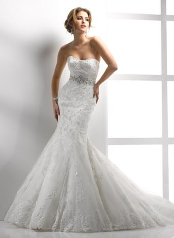 Wedding dress styles - The Mermaid