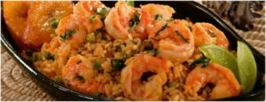 South American Specialties - Arroz con camarones