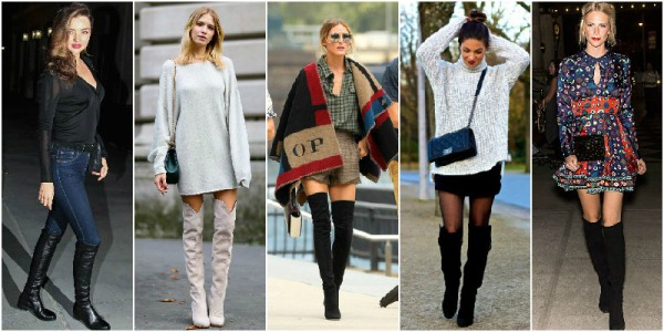 5.Over-The-Knee Boots Winter Wardrobe Essentials