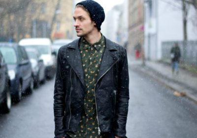 How to Style a Leather Jacket – Men Style Guide