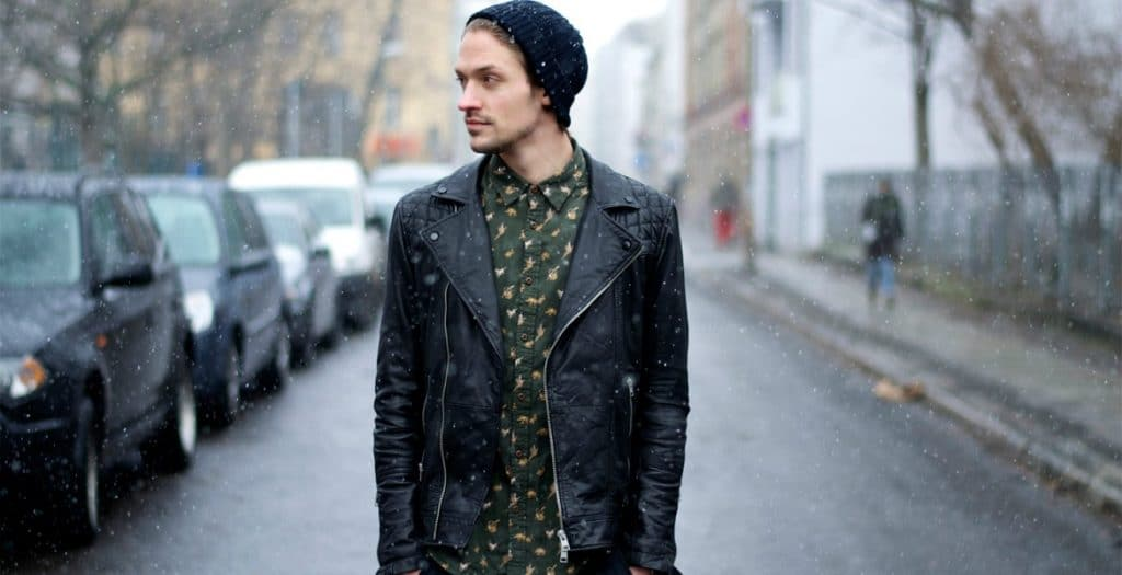 How to Style a Leather Jacket - Men Style Guide