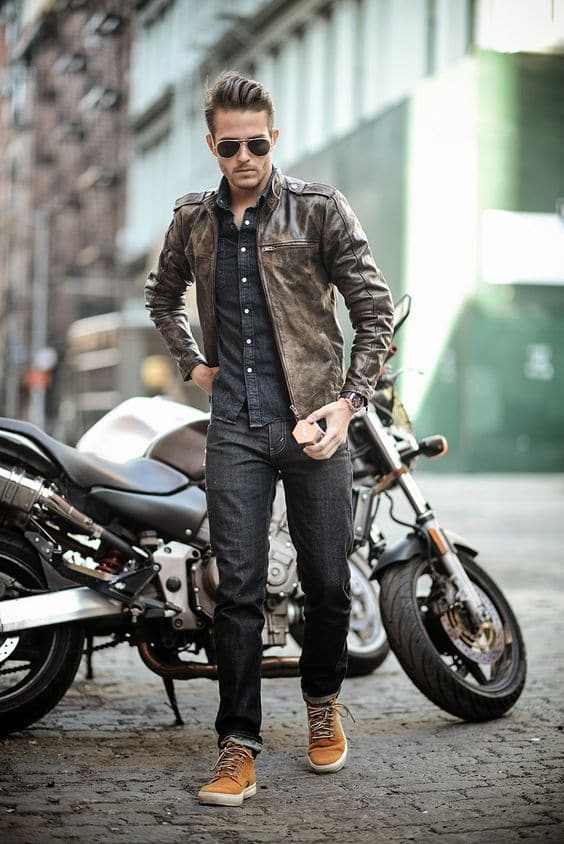 How To Style A Leather Jacket Men Style Guide 2 Know And Vote