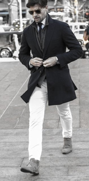 What To Wear With White Jeans For Men 1