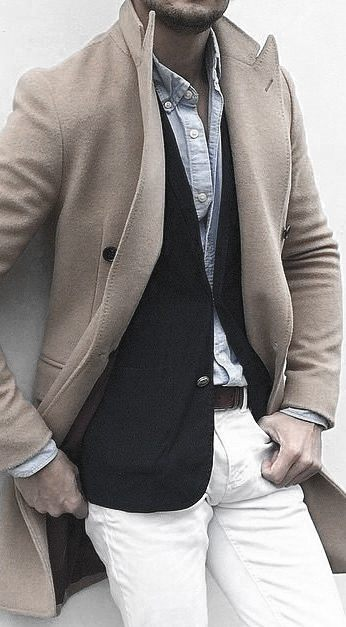 What To Wear With White Jeans For Men 27