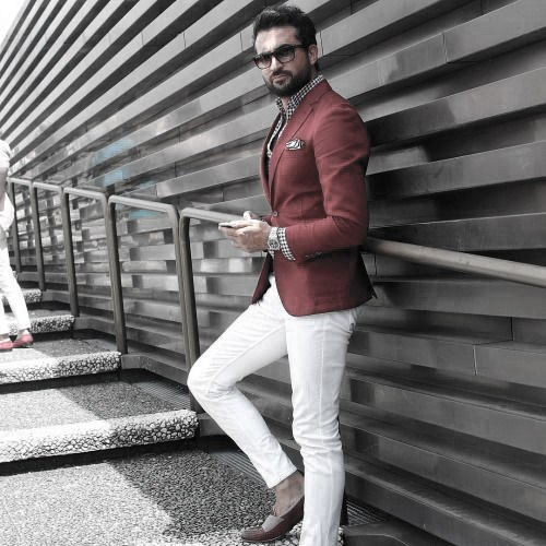 What To Wear With White Jeans For Men 37