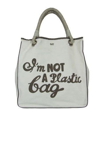 Most Iconic It Bags - Anya Hindmarch 'I am not a plastic bag'