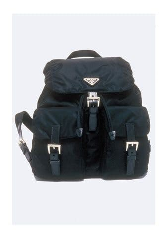 Most Iconic It Bags - Prada Backpack