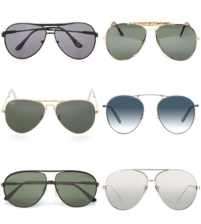 Complete Guide To Sunglasses Styles - Aviators