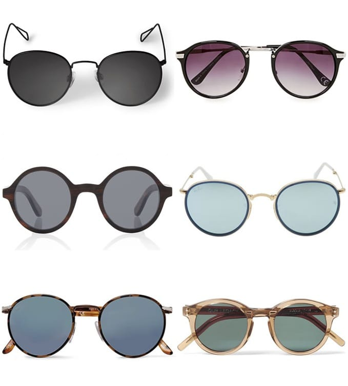 Complete Guide To Sunglasses Styles - Round Frames