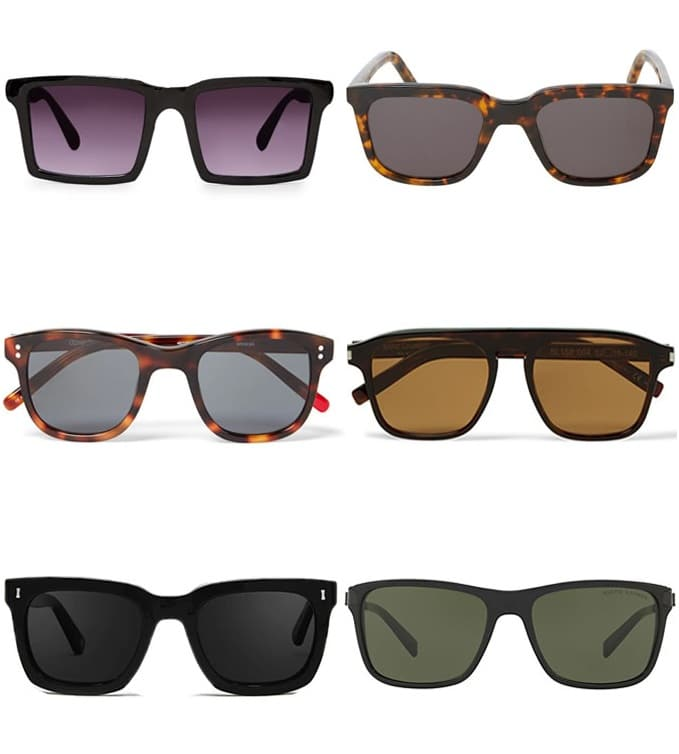 Complete Guide To Sunglasses Styles - Square Frames