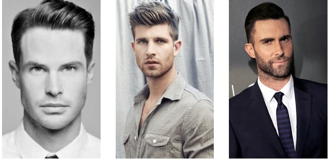 How to choose the right men's haircut - Men's Haircut – Oblong face