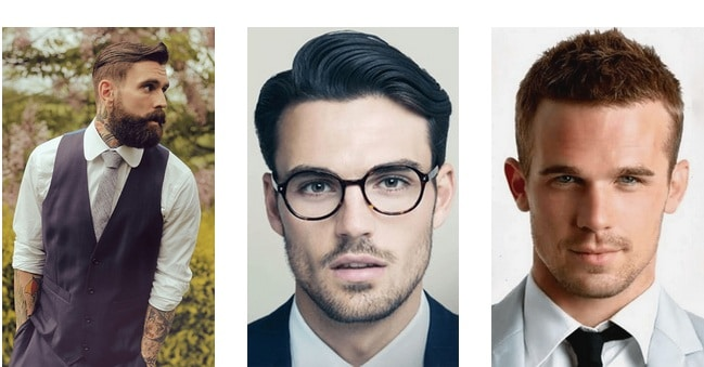 How to choose the right men's haircut - Men's Haircut – Oval face