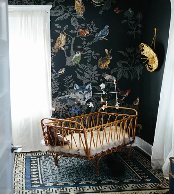 Bohemian Beauty Nursery Walls