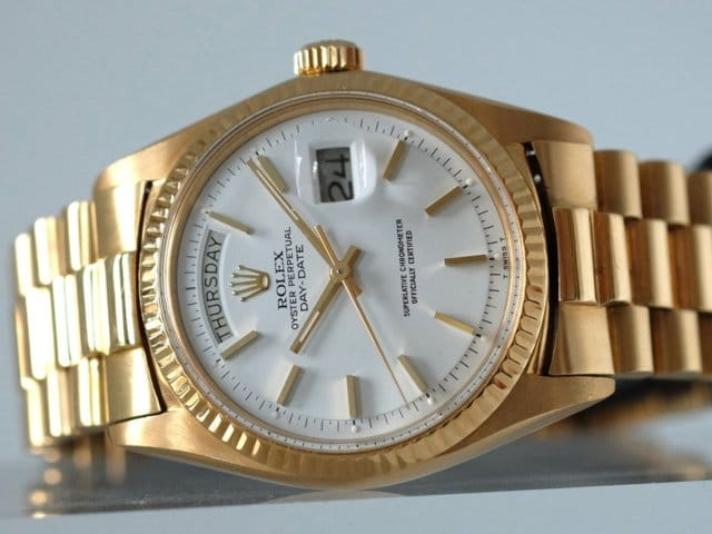 Rolex Day Date President - Watches Of The Most Powerful Men In Finance