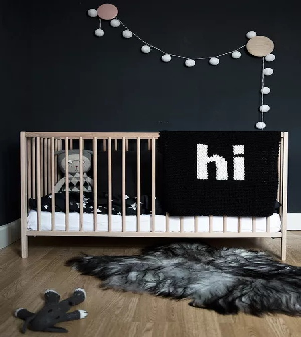 Simply Stated Nursery Walls