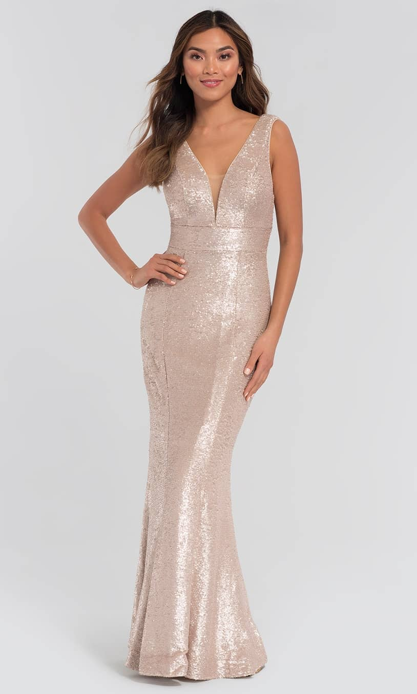 Best Bridal Party Dress Fabric - SEQUINS