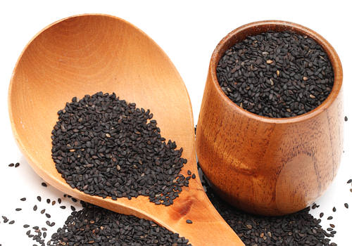 Premature Graying of Hair - Black Sesame Seeds