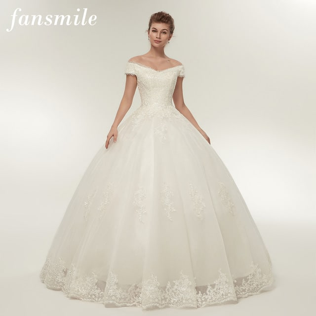 Fansmile wedding dresses