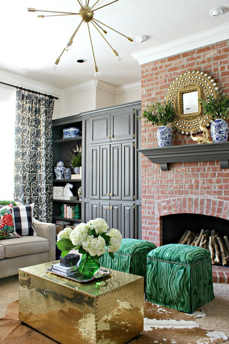 Rooms with Moody Schemes - Add Moody Accents