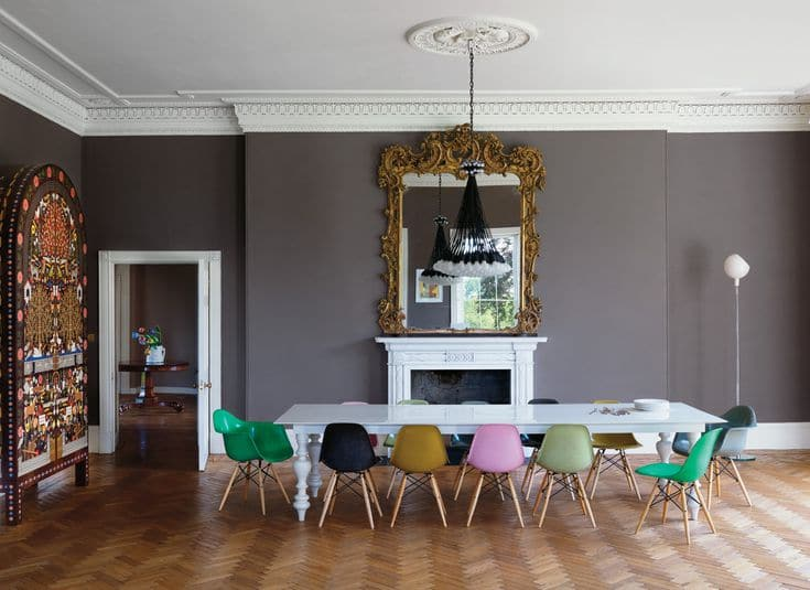 Rooms with Moody Schemes - Add a Little Whimsy