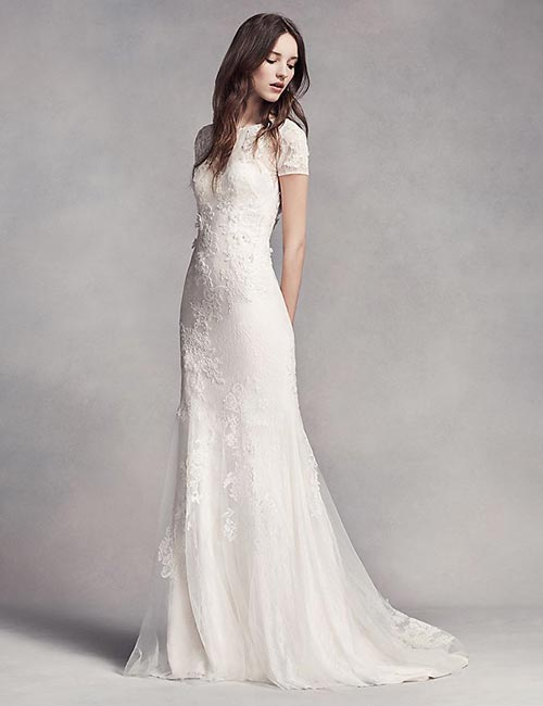 Simple And Affordable Wedding Dresses - Mermaid-Style-Wedding-Gown