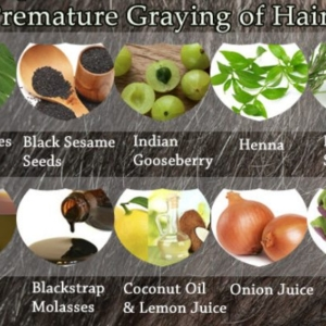 Top 10 Home Remedies for Premature Graying of Hair