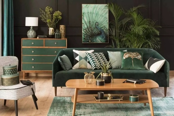 2021 Living Room Paint Colors Green 2