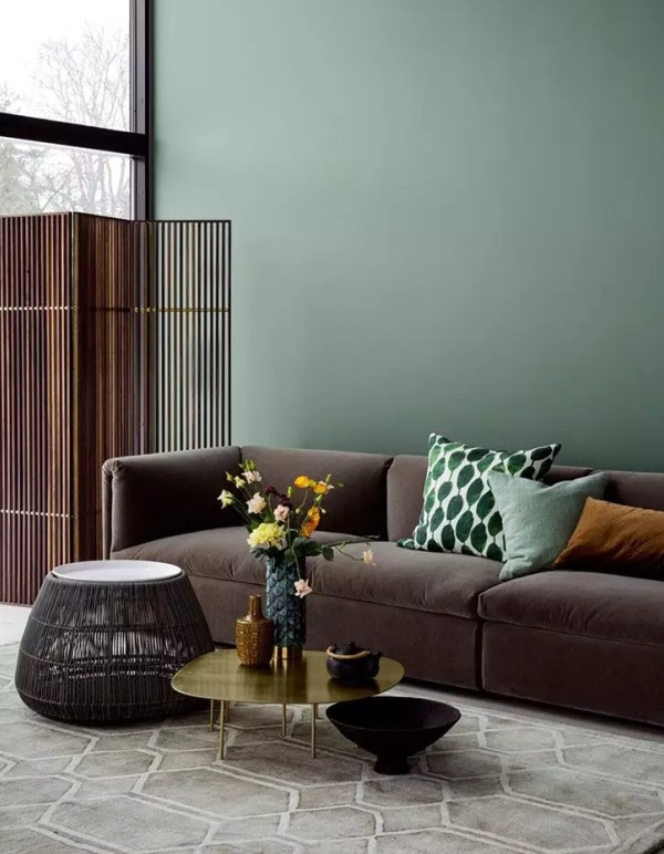 2021 Living Room Paint Colors Green 3