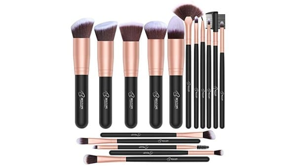 Bestope Makeup Brush 16 Piece Set