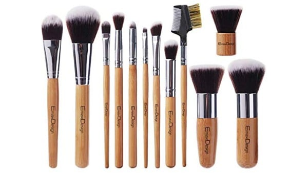 EmaxDesign 12 Piece Makeup Brush Set