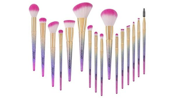 Docolor 16 Piece Fantasy Makeup Brush Kit