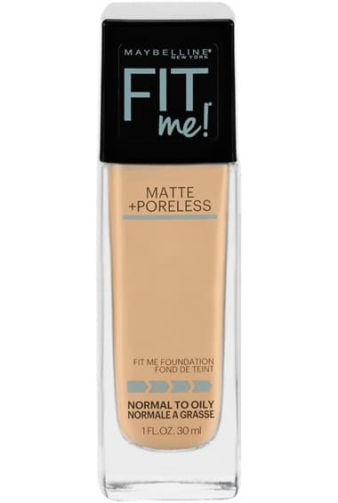 Best for Oily Skin: Maybelline New York Fit Me Matte Plus Poreless Foundation