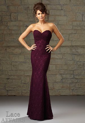 Choose a gown closest to your actual size