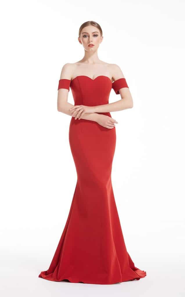 fantastic evening gowns - Choose colors wisely