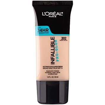 Best Foundations for Mature Skin - L'Oreal Paris Infallible Pro-Glow Foundation