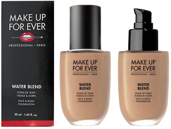 Best Sheer Coverage Make Up For Ever Water Blend Face & Body Foundation