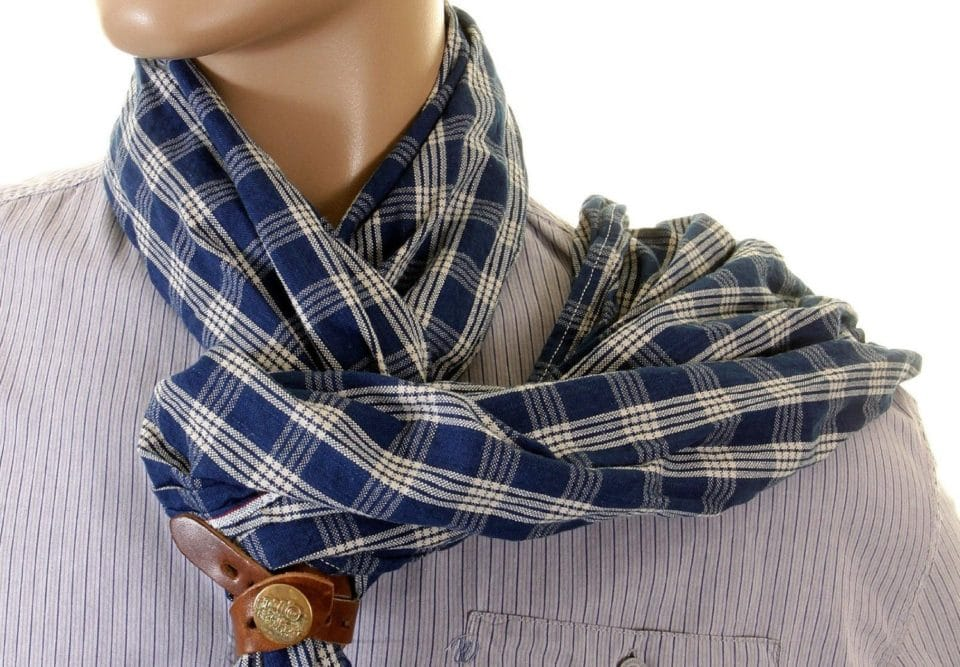 A Man Guide on How to Wear a Scarf - Pick Your Pattern