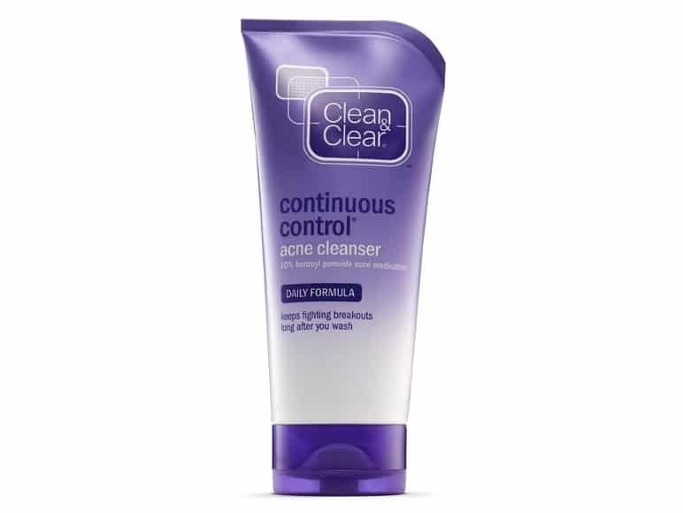 Best Acne Products - Clean & Clear's Continuous Control Acne Cleanser
