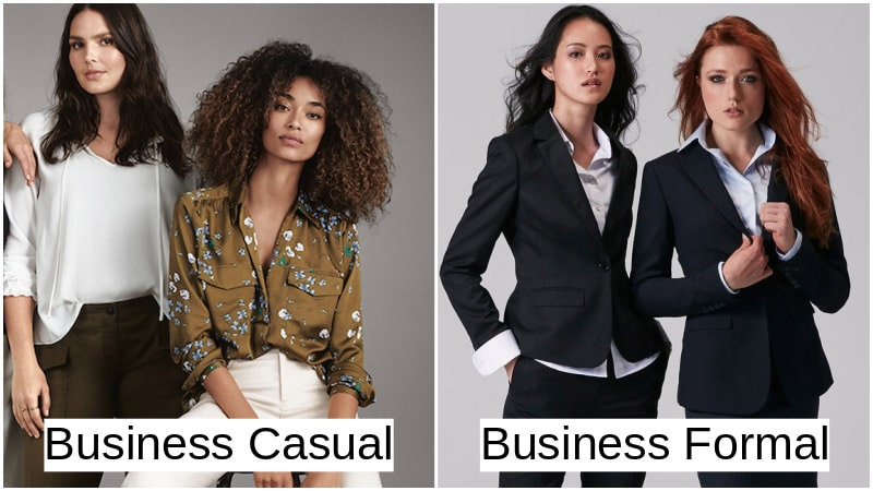 Business Attire For Women - Business Casual Attire vs Formal Business Attire