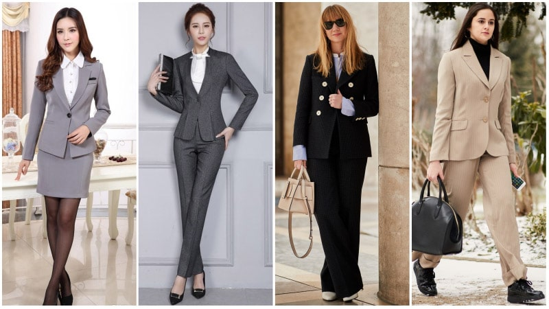 Business Attire For Women - Business Suits for Women