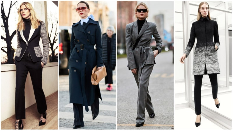 Business Attire For Women - Winter Business Attire