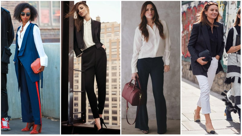 Business Attire For Women - Women's Business Shirts