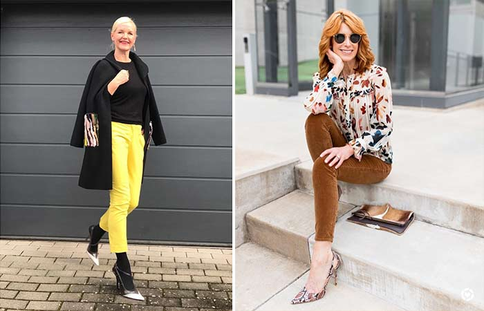 Fashion Tips For Women Over 50 – Colors And Prints