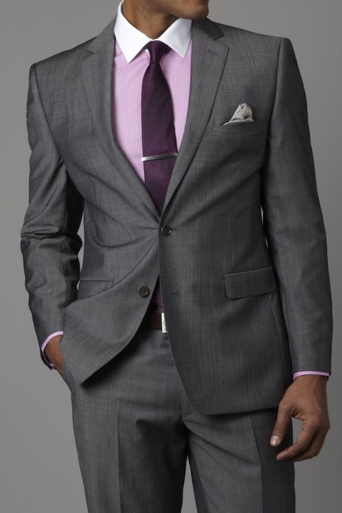 Gray Suit With Brown Shoes - Picking a Shirt